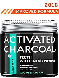 activated charcoal teeth whitening powder product of uk by sunatoria natural. Black Bedroom Furniture Sets. Home Design Ideas