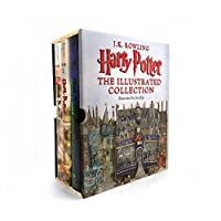 Deals on Harry Potter: The Illustrated Collection Books 1-3 Boxed Set