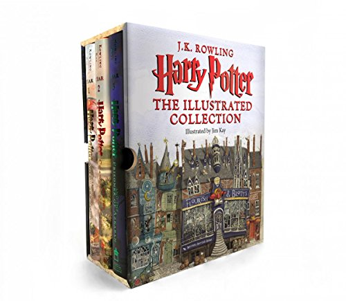 Book cover from Harry Potter: The Illustrated Collection (Books 1-3 Boxed Set) by J.K. Rowling