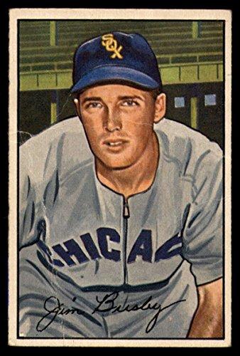 Baseball MLB 1952 Bowman #68 Jim Busby G/VG Good/Very Good White Sox ()