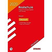 STARK Lösungen zu Original-Prüfungen und Training Realschule 2020 - Deutsch - Hessen