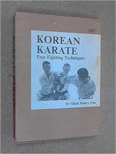 Korean Karate: Free Fighting Techniques: Henry Sihak Cho: Amazon com