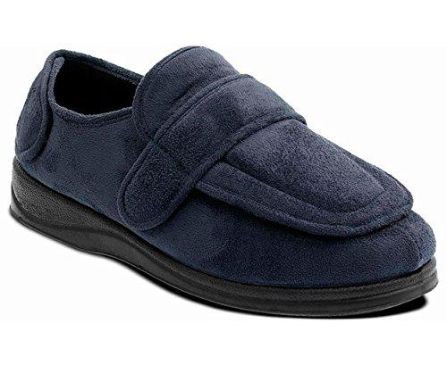 Espuma Suelas Zapato Memoria Grande Anchura De Marina Extra Ee Confontables Forma 'enfold' Cuerno Padders Libre Unisex Zapatillas Con Zxw8BqXzAn
