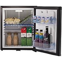 Generic 1.0 cu ft Absorption Portable Refrigerator 110V 12V Hotel Mini Low Noise Beverage Bar Cooler Vehicle RV Boat Car Fridge,BLACK,AC DC