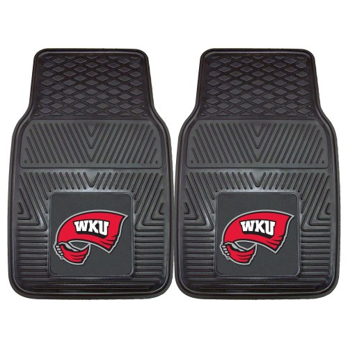 Sacramento Kings Car Mats - FANMATS NCAA Western Kentucky University Hilltoppers  Vinyl Heavy Duty Car Mat
