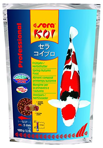 Sera 7012 KOI Professional Spring/Autumn 2.2 lb 1.000g Pet Food, One size - Autumn Pond Food