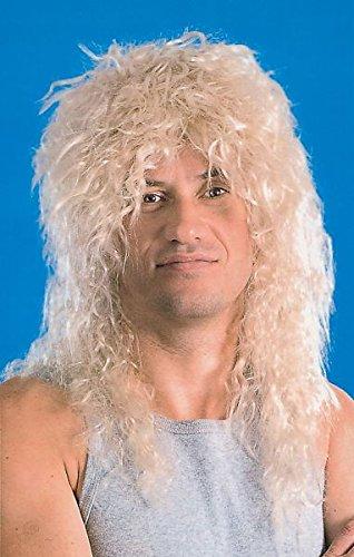 Bristol Novelty BW562 Male Rock Star Wig, Mens, Blonde, One Size
