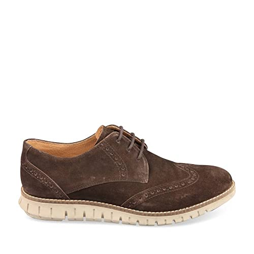 Derbies Side Cuir Denim ChausseaChaussures Marron Homme clF1KJ