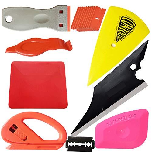 - SYTASOO Vinyl Wrap Tools Set Kits Car Window Tint Film Applicator for Automotive Wrapping Decals DIY Graphics