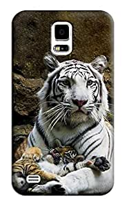 Sangu Tiger Hard Back Shell Case / Cover for Samsung Galaxy S5