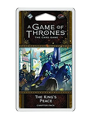 A Game of Thrones LCG 2nd Edition: The King's Peace Game by Fantasy Flight Publishing