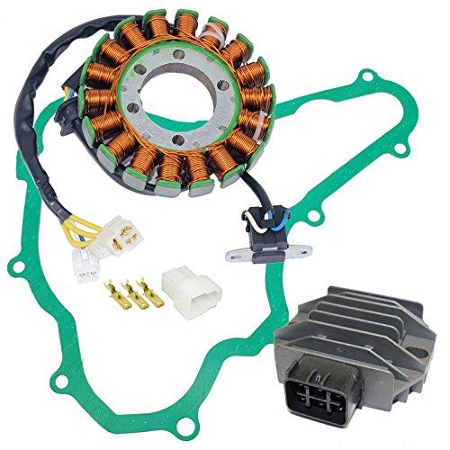 - CALTRIC STATOR REGULATOR RECTIFIER and GASKET FIT Suzuki LTR450 QUADRACER 450 2009