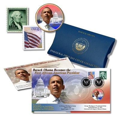Amazon.com : Barack Obama Inauguration First Day Cover ...