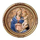 Design Toscano ''Madonna of Humility, 1440'' Canvas Replica Painting, Medium