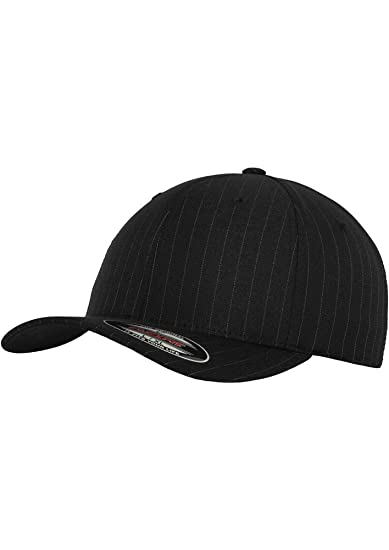 Flexfit Pinstripe Cap Gorra Negro L-XL: Amazon.es: Ropa y accesorios