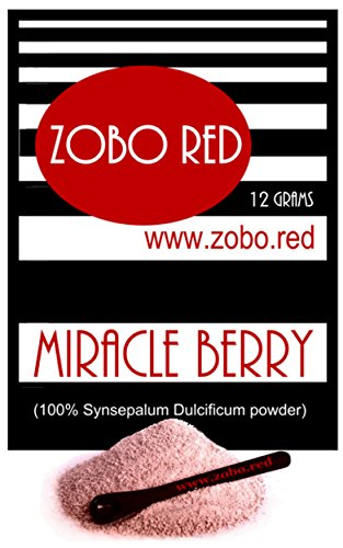 Miracle Berry powder - 40 servings - Best Price - Grown in USA