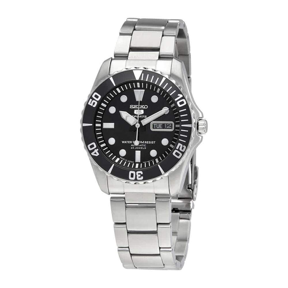 1902189cda9 Amazon.com: Seiko 5 Sports Automatic Watch Made ??in Japan SNZF17J1 Men's:  Watches