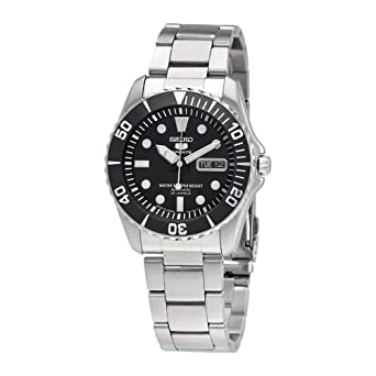 273b274f2 Image Unavailable. Image not available for. Color: Seiko 5 Sports Automatic  Watch Made ??in Japan SNZF17J1 Men's