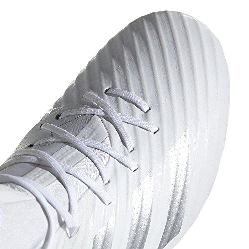 Adidas Hommes Fusée Prédateur (sg) Chaussures De Football Américain Blanc (ftwbla / Plamet / Ftwbla 000)