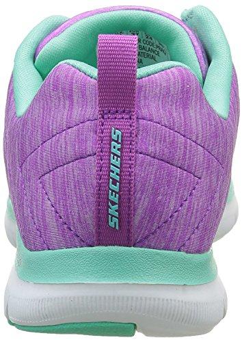 0 Sneakers Damen Violett 2 Flex Appeal Skechers Praq pqIRTFwx