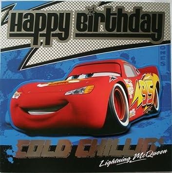 Disney Pixar Cars Geburtstagskarte Mit Aufschrift Happy Birthday