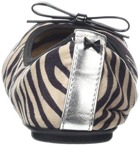 Cara Mujer 088 Zebra Negro Butterfly para Twists Bailarinas v4Ww4q5I