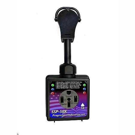Progressive Industries, Smart RV Surge Protector, 50-Amp, SSP-50X