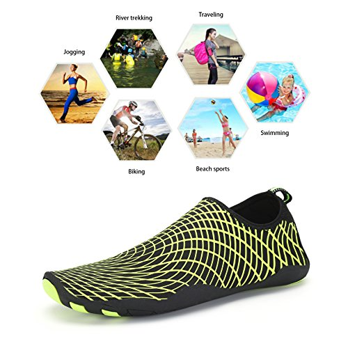 Skin Holes Quick Shoes With Drainage Yellow Swim Sock Women For Bigcount Men Water Shoes Aqua Gym Dry Barefoot Beach Surf X8PwOSqv