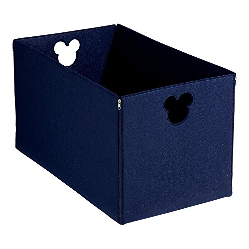 Ethan Allen | Disney Fantastic Felt Storage Basket, Midnight Blue by Ethan Allen