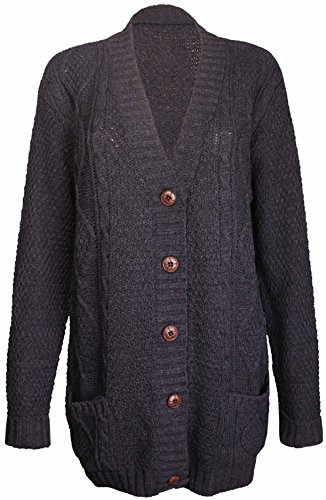 PurpleHanger Womens Knit Sweater Cardigan