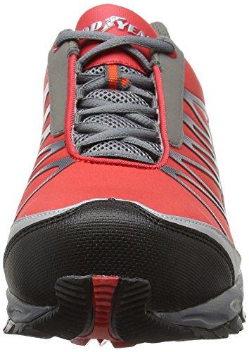 Da Tennis red Di Scarpe Rosso Uomo Sicurezza Gyshu1500 black Goodyear n8StEE