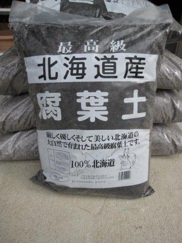 腐葉土 北海道産 100%原料使用 五袋セットでのお届けです 国産完熟腐葉土 B0066ZJEL4