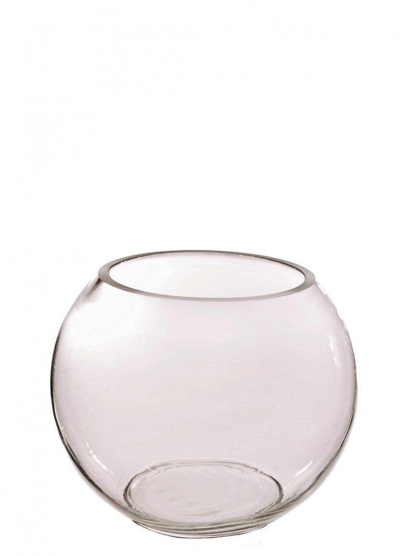 tailles verre Homestreet Vases Lot de Bols pour table de mariage Transparent 10