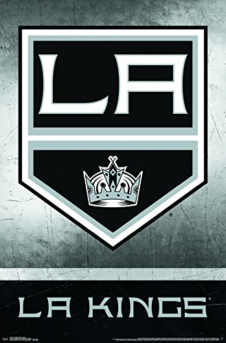 Trends International Los Angeles Kings Logo 22.375