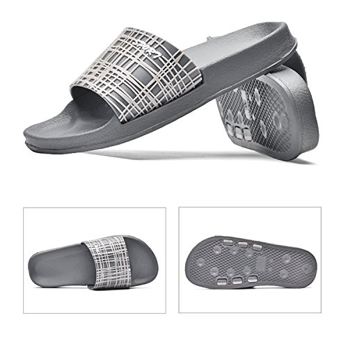 Slippers House Bodon Indoor Light Poolside Slip Soft Slippers Weight Gray Men Non Shower WnnPTacH