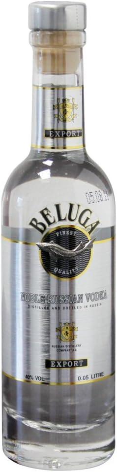 Beluga Beluga Noble Russian Vodka Export 40% Vol. 0,05L - 50 ...