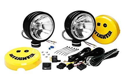 Fine Amazon Com Kc Hilites 634 Daylighter Black 130W Driving Light Wiring Database Pengheclesi4X4Andersnl