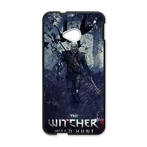 HTC One M7 Phone case Black The Witcher3 Wild Hunt QQA8792413