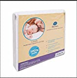 Best Place to Buy Mattress Topper Bawum 5-Layer Soft Waterproof Fitted Crib Protective Mattress Pad Cover
