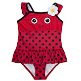 Minikidz Girls Novelty Swimming Costume Swimsuit (Ages 2-6 Years) Swimwear