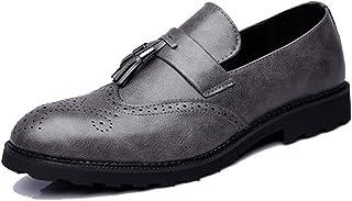 SBL Automne Décontracté Angleterre Chaussures à la Mode pour Hommes Chaussures à Pieds Pointus pour Hommes