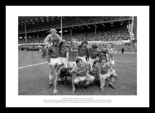 Everton FC 1985 League Champions Classic Framed Photo Memorabilia Home of Legends