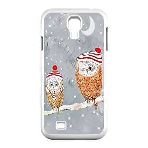 AKERCY Owl Phone Case For Samsung Galaxy S4 i9500 [Pattern-2]