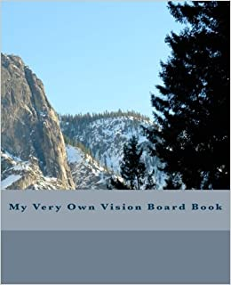 Book My Very Own Vision Board Book: 150 pages