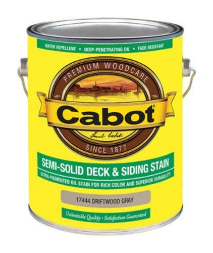 CABOT SAMUEL 17444-07 INC GAL Gry Sol Deck Stain