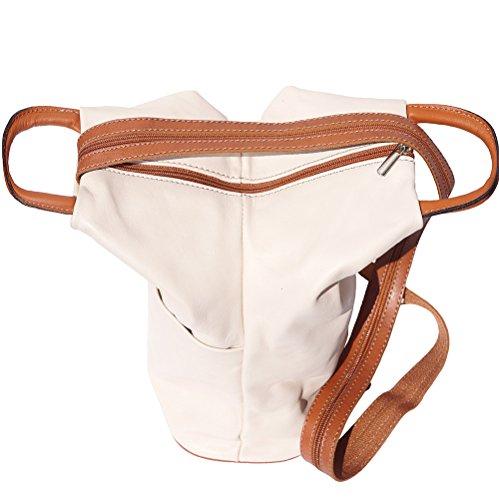 hombro y de Bolso bolsa mochila bronceado Beige 2061 tw55IqU