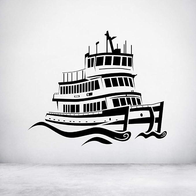 Zaosan Etiqueta de la Pared del patrón de Ferry clásico ...