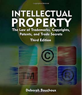 Intellectual Property for Paralegals: The Law of Trademarks ...