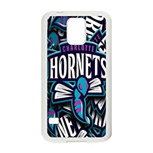 Charlotte Hornets NBA White Phone Case for Samsung Galaxy S5 Case