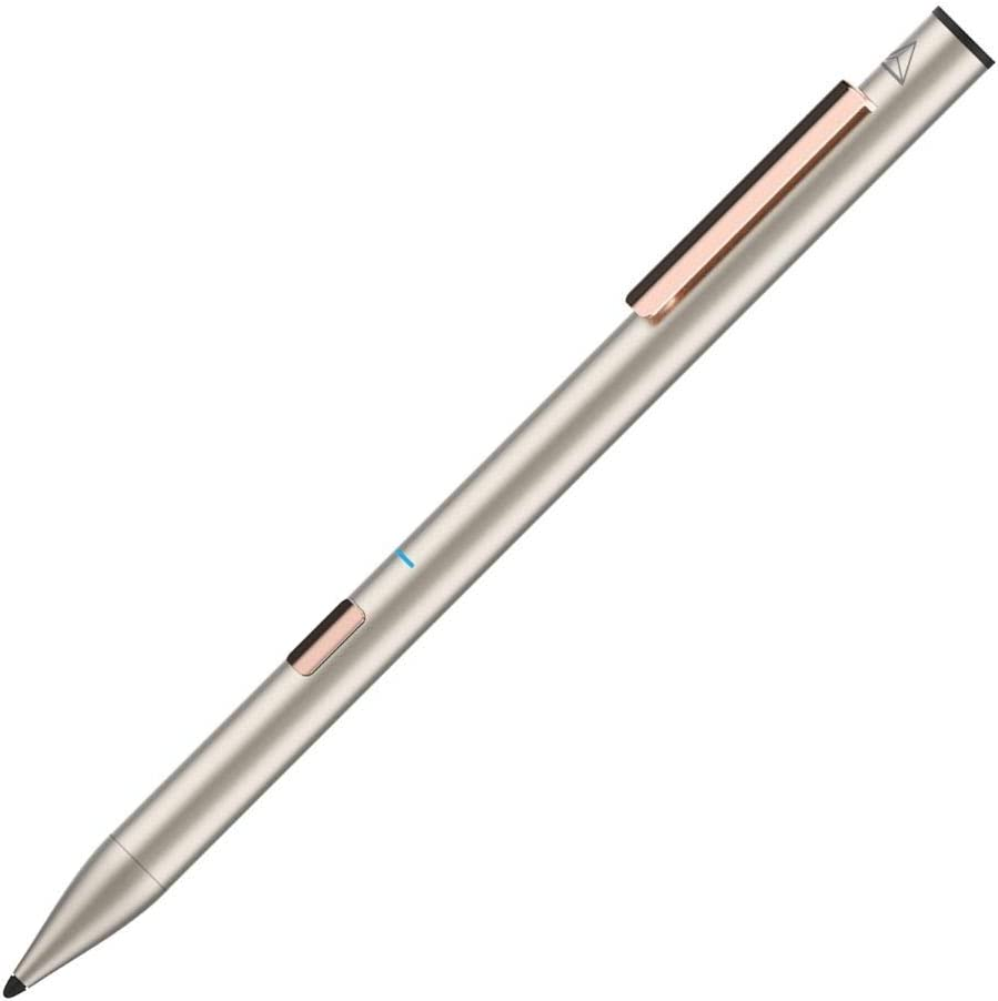 "Adonit Note (Gold) Palm Rejection Stylus & High Accuracy Pen, 12 Hrs Use, Compatible with iOS 12. 2 or Newer iPad Air 3rd gen, iPad Mini 5th, iPad 7th & 6th, iPad Pro 3rd & 4th gen, 11"" & 12.9 inch"